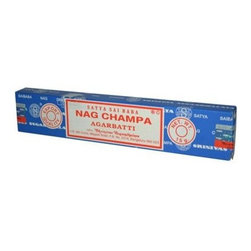 Sai Baba Nag Champa Agarbatti Incense - 15 G - Case Of 12 - Sai Baba Nag Champa Agarbatti Incense Description: