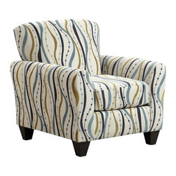 Chelsea Home Furniture - Chelsea Home Lehigh Accent Chair in Streamer Opal - Lehigh Accent Chair in Streamer Opal belongs to the Chelsea Home Furniture collection