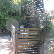 Contemporary Landscape by Award Gates and Screens
