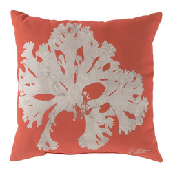 Surya - Surya Bold Coral Outdoor Pillow - RG050-1818 - Shop for Cushions and Pads from Hayneedle.com! With its artistic coral print and handsome color options the Surya Bold Coral Outdoor Pillow has nautical style. A colorful centerpiece to your outdoor living space this pillow is covered in a weather-resistant polyester fabric and comes filled with virgin polystyrene beads. Size options available.Size Options:18 x 18 in.20 x 20 in.About SuryaSince 1976 Surya has established itself as one of India's leading producers of fine rugs and home goods. Their products are sold in the U.S.A. at respected department and specialty stores. The company is known for its quality value dedication and innovation. This includes responsibility for the entire process of creating home decor - spinning dyeing weaving and finishing. Surya prides itself on using the best raw material available for the production of their rugs throws and decor items. They are proud members of Wools of New Zealand. From design concept through production a Surya family member is involved making sure that the highest standards are being met at each level. Surya works with top designers and constantly updates their designs and color palettes to match and set the trends in design and fashion for the home. Surya always means a fine choice.
