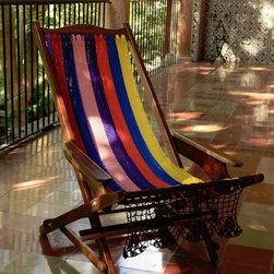 Outdoor Classics - Outdoor Classics Wooden Rocking  Lounge Hammock Chair -
