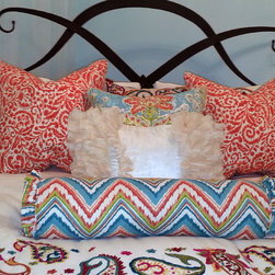 Custom Pillows and Bedding -