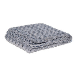 Bedford Cottage - Bedford Cottage Rose Petal Frost Throw Blanket - Winter FrostCozy up to the beautiful Rose Petal Frost Throw Blanket from Bedford Cottage/Kennebunk Home. This gorgeous blanket has the luxurious feel of faux fur and features clean edges. Clusters of rosebuds in a silvery-gray hue give it a dreamy, romantic feel. Drape it on your sofa for an elegant look, or pair it with dusty pinks for a feminine touch.Rose design on one side onlyMade in China