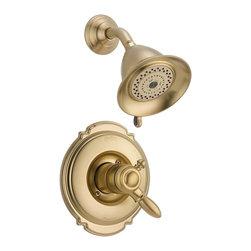 Delta Faucet Company - Delta T17255-CZ Victorian Monitor 17 Series Shower Trim, Champagne Bronze - Delta T17255-CZ Victorian Monitor 17 Series Shower Trim, Champagne Bronze