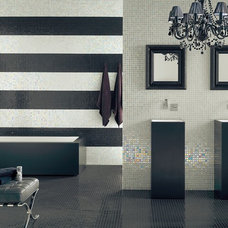 Contemporary Tile by tileliving