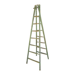 SOLD OUT! Vintage Green French Orchard Ladder - $1,900 Est. Retail - $950 on Cha -