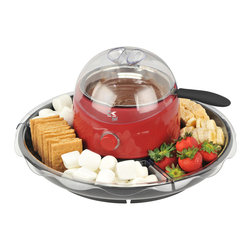 Kalorik - Fondue/Candy Apple Maker - Who doesn't love fondue? This multipurpose pot looks perfect for parties. Whether you're melting chocolate for traditional fondue or making caramel or candy apples, you'll be doing it in high style.