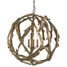 Driftwood Orb Chandelier | Tonic Home