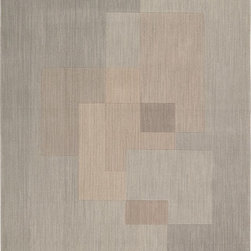 "Calvin Klein - Contemporary CK11 - Loom Select 5'6""x7'5"" Rectangle Drift Area Rug - The CK11 - Loom Select area rug Collection offers an affordable assortment of Contemporary stylings. CK11 - Loom Select features a blend of natural Drift color. Machine Made of 100% Wool Pile the CK11 - Loom Select Collection is an intriguing compliment to any decor."