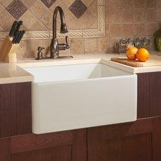 Farmhouse Kitchen Sinks by Signature Hardware
