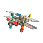 OOTS! - Totem: Aero Cardboard Toy - Cleared for take off: Give wings to your child's imagination. This wonderfully creative toy plane can be created, and recreated anew, using 42 different building pieces.