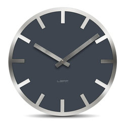 Metlev35 Wall Clock - Grey Index