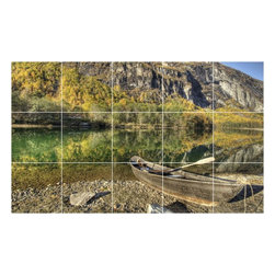 Picture-Tiles, LLC - Boat Ship Photo Wall Back Splash Tile Mural  18 x 30 - * Boat Ship Photo Wall Back Splash Tile Mural 1242