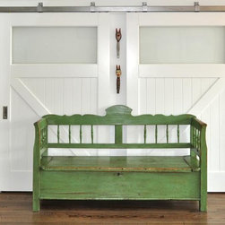 Sliding Barn Doors - Sliding barn doors are a great design element in an interior space. Whether you're separating your rooms or covering the opening to your bedroom, barn doors add that finishing touch. We build our barn doors from fir, mahogany, spanish cedar, and other wood species.