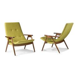 Eggshell Chairs by Allan Gould from Thayer Coggin - Thayer Coggin Inc.