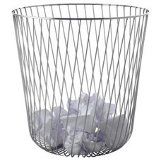 modern waste baskets by Lumens