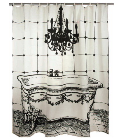 modern shower curtains by 2Modern
