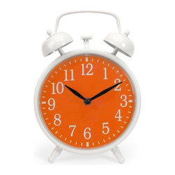 IMAX CORPORATION - Essentials Orange Face Clock - Essentials Orange Face Clock. Find home furnishings, decor, and accessories from Posh Urban Furnishings. Beautiful, stylish furniture and decor that will brighten your home instantly. Shop modern, traditional, vintage, and world designs.