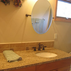 Traditional Vanity Tops And Side Splashes by Infinity Countertops