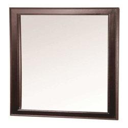 Foremost - Foremost Gazette 23 Inch Mirror in Espresso Finish - Foremost Gazette 23 Inch Mirror in Espresso Finish