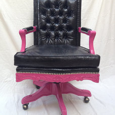 Eclectic Office Chairs by Etsy