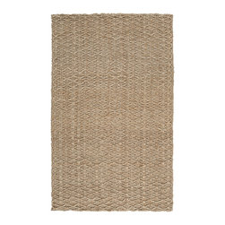 "Surya - Surya Country Jutes CTJ-2028 (Praline, Tan) 8' x 10'6"" Rug - Another inspired ensemble from Country Living, the Country Jutes Collection exemplifies the essence of casual style. Hand-woven from all natural jute in monochromatic shades of beige, each rug combines fibers to create a variety of patterns that exude a simple elegance ideal for traditional to transitional interiors."