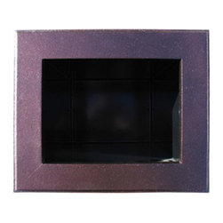 """Qualarc, Inc. - Manchester Newspaper Holder, Antique Copper - Powder Coated cast aluminum newspaper box frame with 22 gauge powder coated steel insert. Can Dimensions : 9"""" x 6.75"""" x 15"""". Newspaper Holder is not available with the Manchester Security Chute Option."""