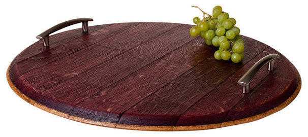 Contemporary Serving Dishes And Platters by Alpine Wine Design