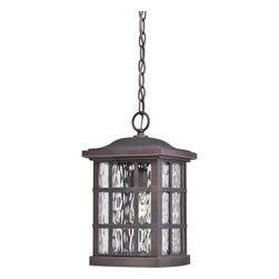 Quoizel Lighting - Quoizel Lighting SNN1909PN Stonington Outdoor Fixture - Outdoor hanging plld brnz
