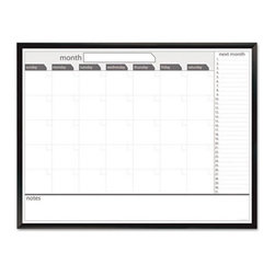 The Board Dudes - The Board Dudes 48 x 36 in. Magnetic Dry Erase Board Multicolor - BDU17346 - Shop for Magnetic Boards and Supplies from Hayneedle.com! Introduce ease and convenience in your daily planning with The Board Dudes 48 x 36 in. Magnetic Dry Erase Board. Its reusable dry erase surface makes it resistant against scratching and ghosting which elevates its functionality. This monthly calendar is perfect for preplanning the activities or schedules for the entire month. Featuring contemporary graphics it s easy to customize while a high-quality satin finish offers the frame both durability and beauty.About United StationersDedicated to making life in the office more organized efficient and easier United Stationers offers a wide variety of storage and organizational solutions for any business setting. With premium products specifically designed with the modern office in mind we're certain you will find the solution you are looking for.From rolling file carts to stationary wall files every product in the United Stations line is designed with one simple goal: to improve office efficiency. In turn you will find increased productivity happier more organized employees and an office setting that simply runs better with the ultimate goal of increasing bottom line profits.