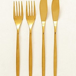 Anthropologie - Doma Fish Flatware - *Set of four pieces