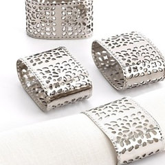 traditional napkin rings by Macy's