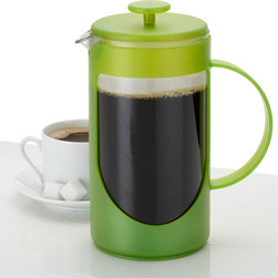 BonJour - Bonjour Green Unbreakable Ami Matin 3-Cup French Press - Enjoy your morning coffee with this green Bonjour French press. This coffee press features stainless-steel elements and an unbreakable design for lasting quality. The filtering lid reduces the amount of sediment that reaches your cup.
