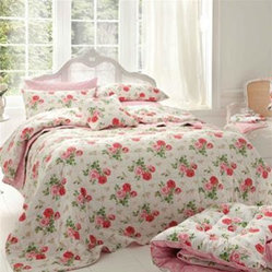 Antique Rose Bouquet Eiderdown