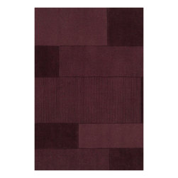 Surya - Hand Loomed Bristol Wool Rug BRT-2924 - 8' x 10' - Through the use of the freshest colors in the home fashion world, we have update a classic. Surya's Bristol Collection is comprised of solid, tone on tone rugs with carved details. This magnificent grouping of casual colors and textures will integrate seamlessly into any home's decor.