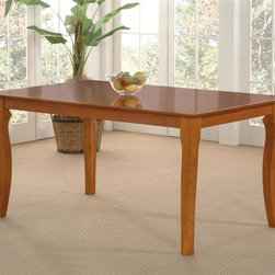 Atlantic Furniture - Venetian Dining Table in Solid Hardwood (42 i - Finish: 42 in. W x 60 in. L - EspressoVenetian Collection. 100% Solid eco-friendly hardwood. Mortise and tenon joinery. Finished with high build 5 step finishing process. Pictured in Caramel Latte finish. 1-Year warranty. 39 in. L x 39 in. W x 29.5 in. H. 48 in. L x 36 in. W x 29.5 in. H. 60 in. L x 36 in. W x 29.5 in. H. 60 in. L x 42 in. W x 29.5 in. H. 54 in. L x 54 in. W x 29.5 in. H. 78 in. L x 42 in. W x 29.5 in. HAtlantic Furniture's Venetian Dining and Pub Tables present elegantly curved table legs that will add beauty and sophistication to your home. Exceptional craftsmanship and high quality materials mean that you can feel confident that your purchase will last for years to come.