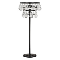Robert Abbey - Bling Table Lamp, Deep Patina Bronze - A delicate but stunning statement, this table lamp is bedazzling. A contemporary cornucopia of bling, bring this one of a kind lamp into your crib and you'll be rapping about the benefits of your purchase.
