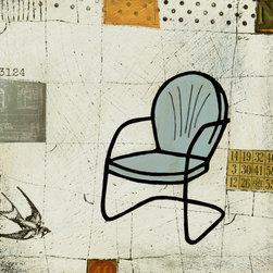 Little Chair - Skyline Art Prints