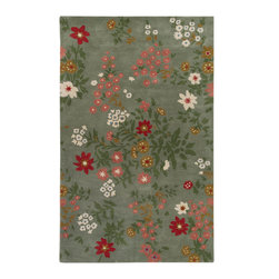 "Paule Marrot PMT1000 Rug - 2'6""x8' - Quality construction and luscious pile define the Paule collection. This Hand Tufted Rug made out of pure 100% New Zealand Wool will be a stylish addition to any floor. Add a touch of elegance to your d�cor and impress guests for years to come."