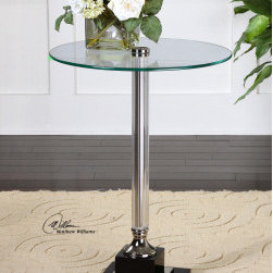 "24293 Senia, Accent Table by uttermost - Get 10% discount on your first order. Coupon code: ""houzz"". Order today."