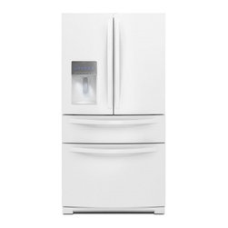 """Whirlpool - WRX988SIBW 36"""" 28.1 cu. ft. French Door Refrigerator  Double Freezer Storage  Ad - When it comes to refrigerators you want fullproof food preservation While most brands can keep food fresh Whirlpool brand takes it further by offering refrigerators that work with your lifestyle You want ample and easily accessible storage space incl..."""