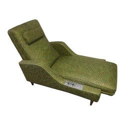 Ramar Vintage Massage Lounge Chair - Dimensions 55.0ʺW × 39.0ʺD × 38.0ʺH