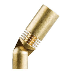 FX Luminaire - FX Luminaire - CC Series 1 LED Up Light in Natural Brass - Created for small scale elements, the CC combines smart style and functional ability. Our Driver-OnBoard technology uses long-life LEDs