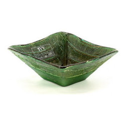 Artistica - Hand Made in Italy - IVV Glass: A Freak Coppetta Green - IVV Glass and Class