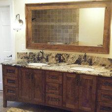 Traditional  by Amanda Napier - M & H Custom Cabinets, Inc.