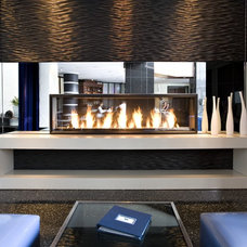 Modern Indoor Fireplaces Modern Fireplaces