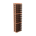 Wine Racks America - 4 Column Magnum/Champagne Cellar Kit in Redwood, (Unstained) Redwood - A special rack with large bin openings for proper preservation of 60 1.5L wine bottles. Integrates with other instaCellar racking easily. Our magnum style rack is designed for stability, beauty and longevity. You'll be impressed by this rack or get your money back. Guaranteed.