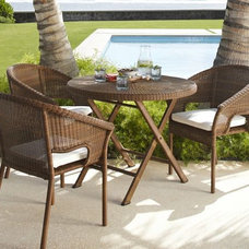 Contemporary Outdoor Tables by Pottery Barn