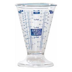 Frieling - Perfect Beaker™ - Six measurement types: cups, fl. oz., pints, tsp, TBS, ml/ccm