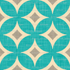 contemporary decals by Spoonflower